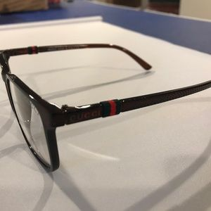 Brown Gucci Glasses Frames